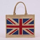 2015 promozionale Natural Grocery Tote Bag iuta (TP-SP531)