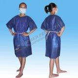 Bequemes geduldiges Wegwerfkleid, Marine-Krankenhaus-Kleidungs-Patienten-Kleid