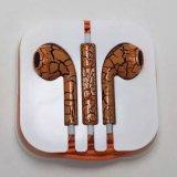 iPhone 5/6のための卸し売り熱い販売のひび様式のイヤホーン
