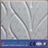 Painel da placa da onda do MDF/painel de parede da placa onda do folheado 3D