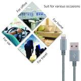 Umsponnene Daten-Nylonsynchronisierung, die USB-Kabel für iPhone auflädt