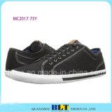 Серые классицистические ботинки холстины