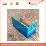 Изготовленный на заказ коробка индикации Corrugated картона E-Каннелюры для промотирования
