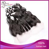 Frontal ondulato del merletto del corpo dei capelli del Virgin del brasiliano di 100%