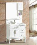 PVC Floor Standing Bathroom Cabinet da alta qualidade com Mirror