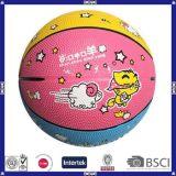 Het aangepaste Grappige Basketbal van het Ontwerp van het Embleem Nieuwe