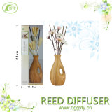 Jpan Style Creative Wooden Bottle Hotle, Home, Office Decorative Reed Diffuser 또는 Aromatherapy Rattan Diffuser Gift Set