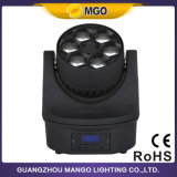 Indicatore luminoso capo dell'occhio RGBW LED Movind dell'ape di illuminazione LED DMX del DJ mini