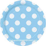 """8 """" placas de papel de la torta"""