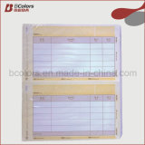 Papel de ordenador NCR formulario en blanco o papel NCR Forma Impresión