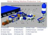 Bloc Qt12-15 complètement automatique faisant la ligne de produits de machine