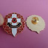 Nouvelle croix blanche avec un insigne de Pin de revers en métal de jour de souvenir d'émail de pavot, Rotherham