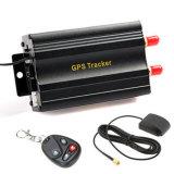O perseguidor Tk103b do carro do GPS, GPS103b de controle remoto eliminou o motor de automóveis, sirene, sensor do combustível, sensor da agitação