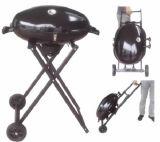 Im Freien faltbarer Holzkohle BBQ-Gitter-Grill für das Kampieren