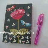 cuaderno de la manera con cualquie diseño