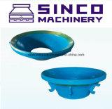 Concave de Vervangstukken van uitstekende kwaliteit van de Maalmachine van de Kegel en Mantel