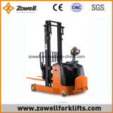 Zowell Cer New Electric Reach Stacker mit 1.5 Ton Load Capacity, 2.5m Lifting Height Hot Sale