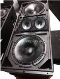 Jblのコンサートのためのシラカバの合板のキャビネットが付いている可聴周波スピーカーPAシステム強力なラインアレイ
