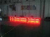 Moduli rossi esterni di monocromio P10 LED