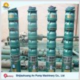 Bomba de agua sumergible de la mina vertical gradual de alta presión resistente de la turbina