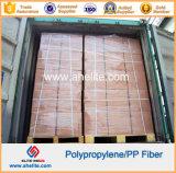 Fibres synthétiques d'onde de fibre d'Undee de polypropylène macro
