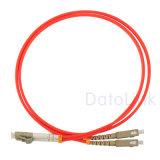 Cordon de connexion de Sc-LC millimètre Dx