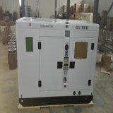 gerador Diesel Diesel elétrico silencioso 10kw de Genset do jogo de gerador da potência da venda da fábrica de 12kVA Fujian