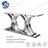 La Tabella di corridoio dell'acciaio inossidabile 304 per l'hotel 150*75*40cm o personalizza Jka-1006