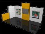 Visualización modificada para requisitos particulares Yu 2017 de la exposición de la cabina de la feria profesional de Tian