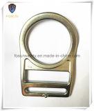 Anéis-D dobrados aço forjados do chapeamento branco do zinco