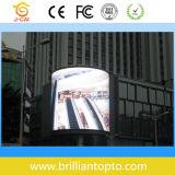 Tela de exposição ao ar livre impermeável do diodo emissor de luz da cor cheia (P16)