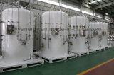Réservoir de stockage cryogénique industriel d'argon d'azote d'oxygène liquide de basse pression