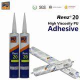 자동차 바람막이 유리와 (PU) 측 유리 설치를 위한 실란트 1개 부품 폴리우레탄 (Renz20)