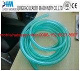 Linha trançada da extrusão da tubulação de mangueira da fibra do PVC