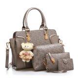 woman Handbag Bag Set 어깨에 매는 가방 지갑 핸드백 장비 패션 디자이너 숙녀