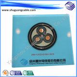 Mv XLPE изолировал обшитое PVC пламя стальной ленты Armored - retardant кабель электричества