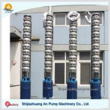 Pompa ad acqua sommergibile della miniera verticale a più stadi ad alta pressione resistente della turbina