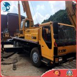 Gebruikt/Second-Hand de Hydraulische Mobiele Kranen van de Kranen van de Vrachtwagen van de Kranen van het Terrein van Kranen XCMG