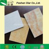 Обработки сопротивления цемента волокна доска панели UV декоративная