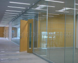 Interior moderno Glass Curtain Wall Office Partition con Shutter (SZ-WS618)