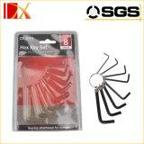 Экстренно длиной Hex ключ установили/ключ Hex ключа/комплект Hex ключа, ключ высокого качества Hex, стальной Hex ключ