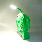 Ventilatore portatile dello scrittorio del tasto della lampada/interruttore di tocco LED del forte vento mini