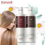 Champô do cuidado de cabelo de Karseell, jogo da queratina uma (endireitar o cabelo, duradouro)