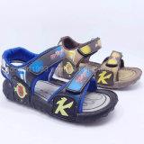 Лето 2016 ботинок сандалий детей сандалий малышей способа высокого качества вскользь обувает резину PU ботинок впрыски