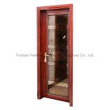 二重ガラスの美しいアルミニウム熱壊れ目の開き窓のドア(FT-D70)