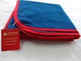 工場最もよい品質安く100厚いポリエステル航空会社毛布