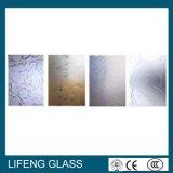 Vidro de /Art do vidro Acid-Etched do teste padrão decorativo/vidro geado