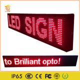 Sinal interno do indicador de diodo emissor de luz da única cor para a mensagem do desdobramento