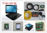 働くこと準備ができたBMW Icom A2+B+CのソフトウェアX201tのラップトップI7 CPUのため