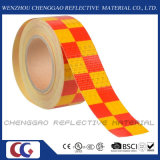 Hohes Visibility Safety Clear Reflective Tapes/Stickers für Truck (C3500-G)